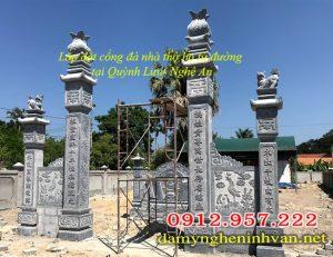 Cổng tam quan đá , Mẫu cổng tam quan đá; Cổng tam quan đẹp; cổng tam quan nhà thờ họ; cổng tam quan từ đưởng, mẫu cổng tam quan đẹp;