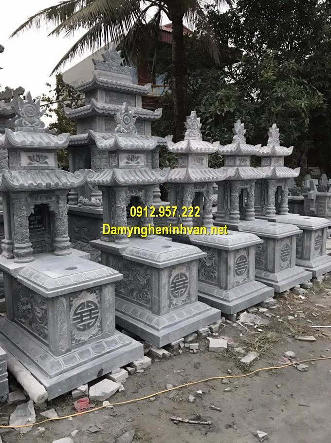 Các mẫu thiết kế lăng mộ đá hai mái đẹp nhất Việt Nam