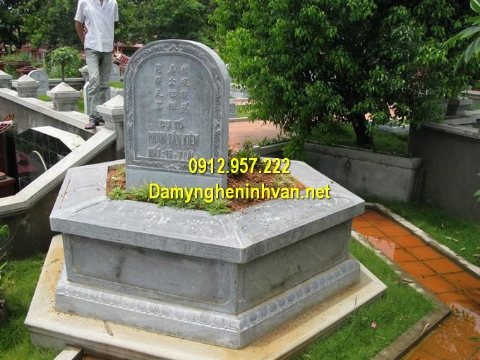 Lăng mộ đá lục lăng, bát giác chuẩn phong thuỷ