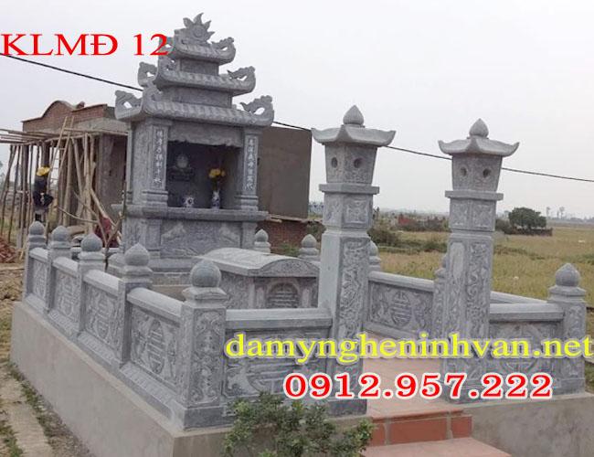 Lăng mộ đá xanh đen Ninh Bình