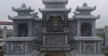 Lăng thờ chung bằng đá