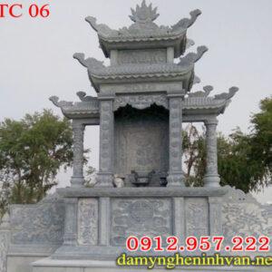 Lăng thờ chung bằng đá - Mẫu lăng thờ chung khu lăng mộ đá đẹp giá rẻ