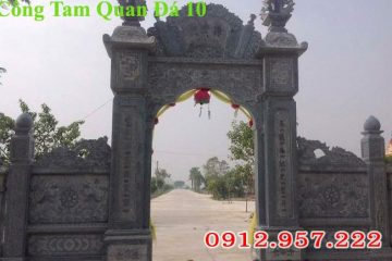mẫu cổng đình làng; Mẫu cổng làng đẹp; mẫu Cổng làng văn hóa; Cổng đình làng bằng đá;