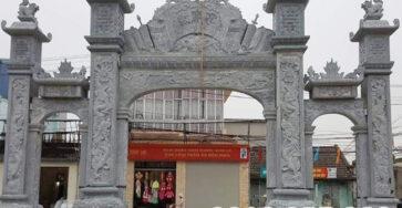 Mẫu cổng đình làng đẹp, mẫu cổng làng đẹp