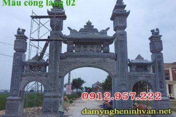 Mẫu cổng làng đẹp