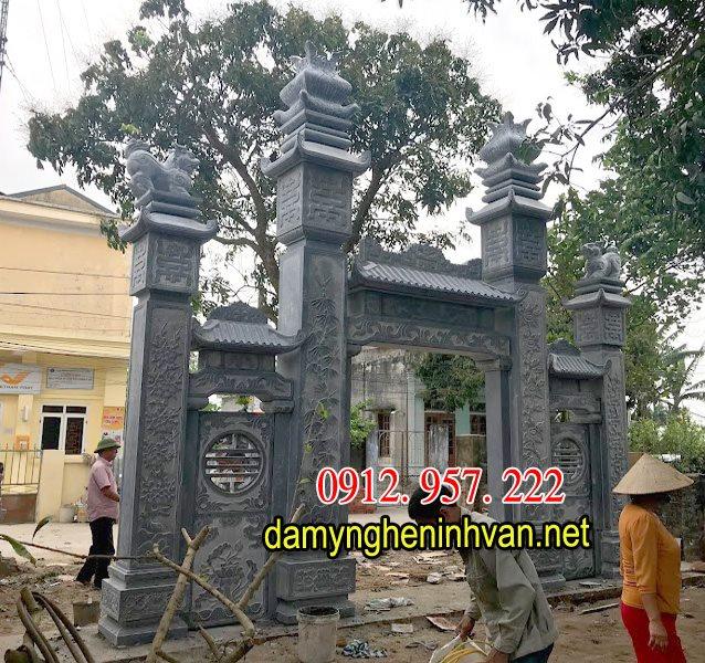 Cổng chùa đẹp , mẫu cổng chùa đẹp,