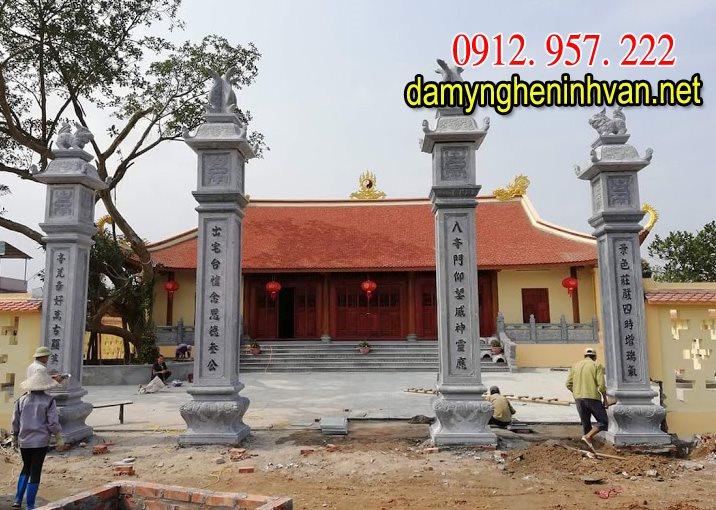 mẫu cổng đền chùa đẹp