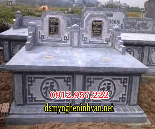 Mẫu mộ đôi đẹp 02, Hình ảnh mộ đôi đẹp 024