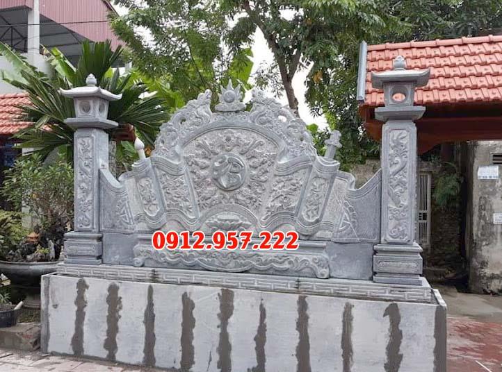 10 Bức bình phong đá nhà thờ họ từ đường đẹp chất lượng tốt