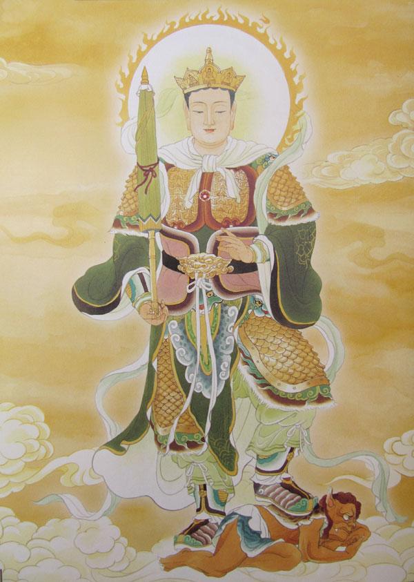 Bắc Phương - Đa Văn Thiên Vương