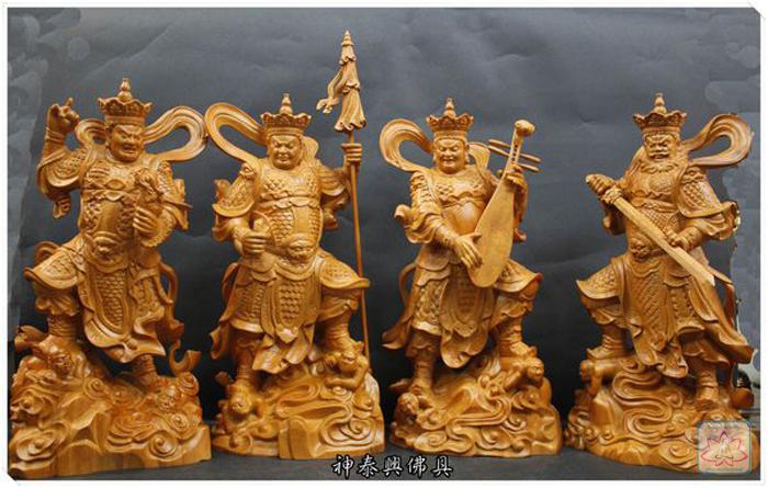 Tứ đại thiên vương Phật Giáo bao gồm những ai ?