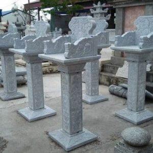 Bàn thờ mẫu bán thiên bằng đá - Báo giá bàn thờ mẫu bán thiên đẹp