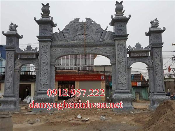 Cổng đá đẹp Bắc Giang