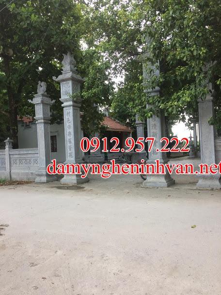 Cổng đá Bắc Giang - Làm cổng đá uy tín tại Bắc Giang - Cổng làng tại Bắc giang, Cổng đình tại bắc Giang, Cổng chùa tại Bắc giang