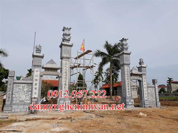 Cổng đá nhà thờ họ từ đường tại Hà Nội, Cổng từ đường hà Nội, CỔng nhà thờ họ Hà Nội
