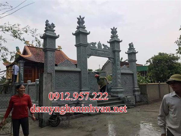 Làm cổng đá nhà thờ đẹp tại quảng trị