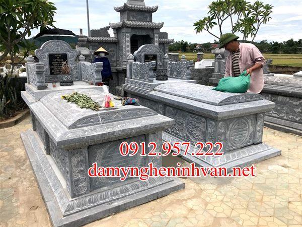 Mộ đá đẹp Quảng Ninh - Địa chỉ làm lăng mộ đá Quảng Ninh Uy Tín