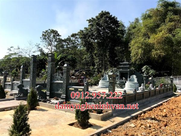 Mộ đá Bắc Ninh- Nhận làm lăng mộ đá xanh tại Bắc Ninh