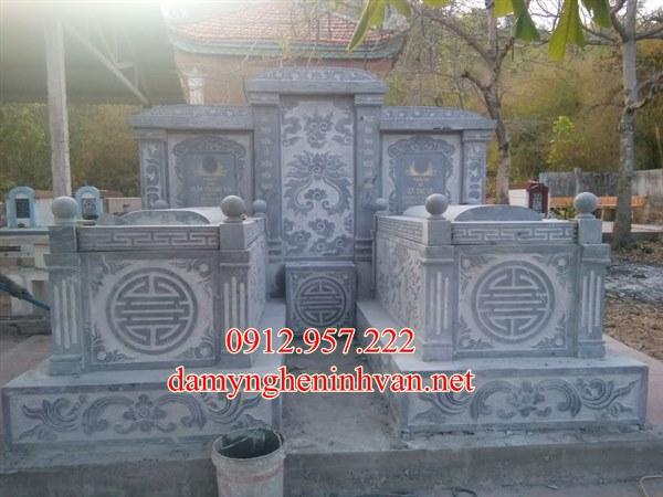 Mộ đá Cần Thơ - Những mẫu khu lăng mộ đá xanh đẹp tại Cần Thơ