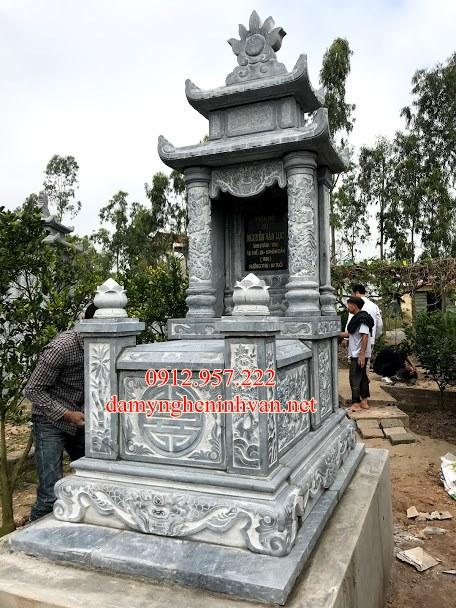 Mộ đá Hà Tĩnh - Địa chỉ đặt mua lăng mộ đá đẹp uy tín tại Hà Tĩnh