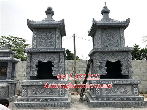 Mộ tháp đá phật giáo đẹp tại Bác Ninh, Tháp mộ đá Bắc Ninh