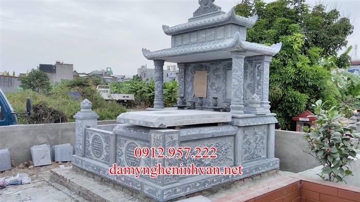 Xây mộ đôi đẹp bằng đá tại Bắc Ninh, Mộ đá đôi bắc Ninh