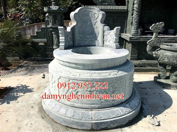 Xây mẫu mộ tròn đá đẹp tại Tuyên Quang, Mộ tròn đẹp tuyên quang, Mộ Đá TUyên Quang, Lăng mộ đá tuyên QUang
