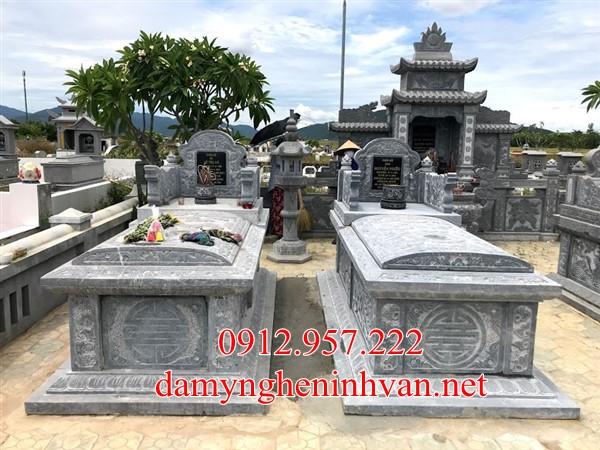 Xây mộ đá đẹp không mái tại Bắc Ninh, Mộ đẹp tại Bắc Ninh