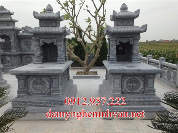 Xây mộ đá xanh khối đẹp tại Vĩnh Phúc, Mộ đá Vĩnh Phúc, Lăng mộ đá Vĩnh Phúc