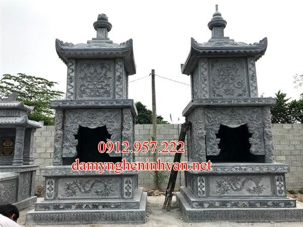 Xây mộ tháp đá đẹp tại Hưng yên, mộ tháp Hưng Yên