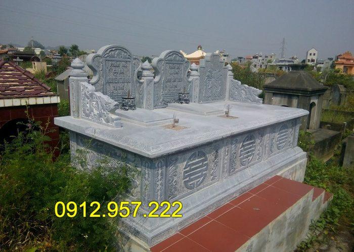Kiểu mộ đơn giản nhưng vẫn đúng phong thủy
