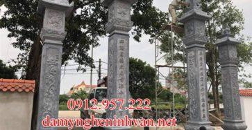 Cổng đá đẹp được làm tại Bắc Ninh;