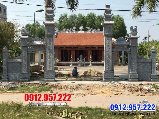 cổng nhà thờ họ lắp đặt tại Hà Nội