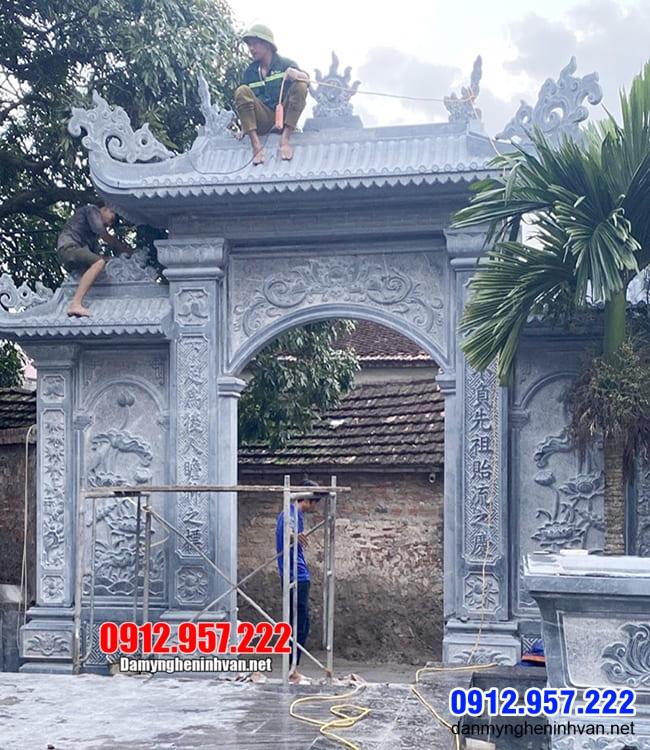 cổng nhà thờ họ tại Hà Nội