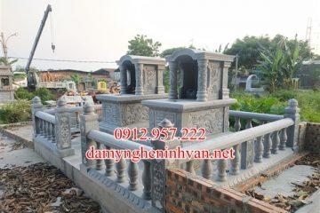 Địa chỉ làm khu lăng mộ đá gia đình dòng họ đẹp tại Nghệ AN