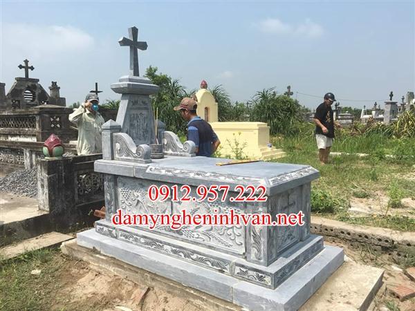 Địa chỉ làm Lăng mộ đá - Mộ đá đẹp tại Nghệ An uy tín chất lượng
