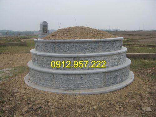 Địa chỉ chuyên thiết kế và thi công với giá mộ đá tròn hợp lý
