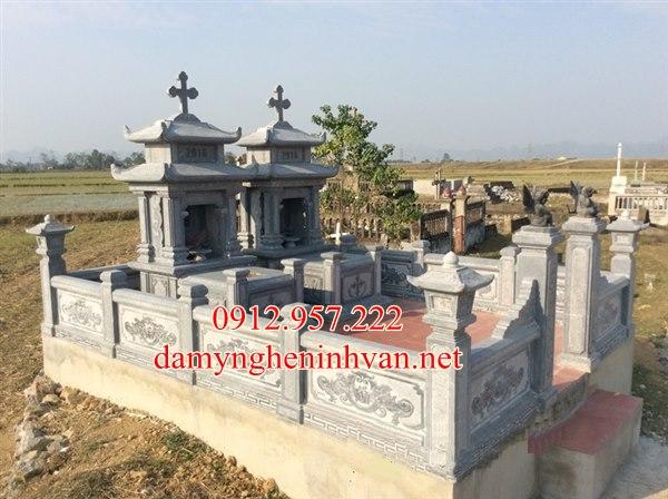 Mộ công giáo quảng trị, Khu lăng mộ công giáo tại quảng trị