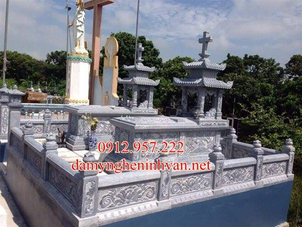 Khu lăng mộ đá công giáo đẹp tại thái bình