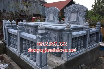 Khu lăng mộ đá đẹp đơn giản tại Quảng Bình