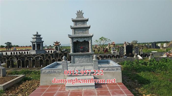 Mộ đá Thái Nguyên - Làm lăng mộ đá xanh Thái Nguyên đẹp nhất