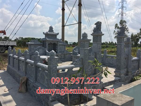 Khu lăng mộ đá xanh đẹp tại Nam Định, Lăng mộ đá Nam ĐỊnh