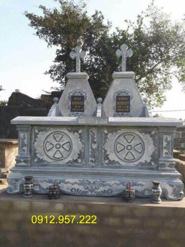 Các kiểu mộ công giáo đẹp nhất tại đá mỹ nghệ Ninh Vân