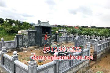 Làm khu lăng mộ đá đẹp tại Phú Tho -LMPT01