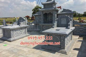 Làm khu lăng mộ đá Xanh Đẹp tại Hưng Yên , mộ đá đẹp Hưng Yên
