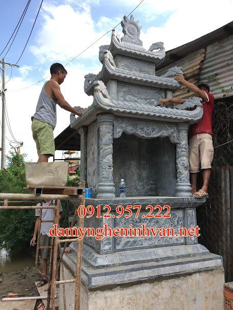 Làm lăng thờ đá - Miếu thờ thần linh tại Hưng Yên, AM thờ tại Hưng Yên