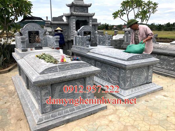 Làm mẫu khu lăng mộ đá đẹp nhất tại Hải Phòng