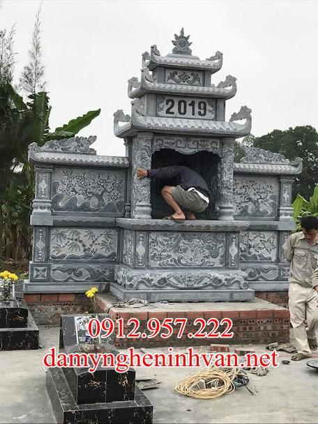 Mẫu lăng thờ chung đá đẹp Nam ĐỊnh, Miếu thờ thần linh tại Nam Định