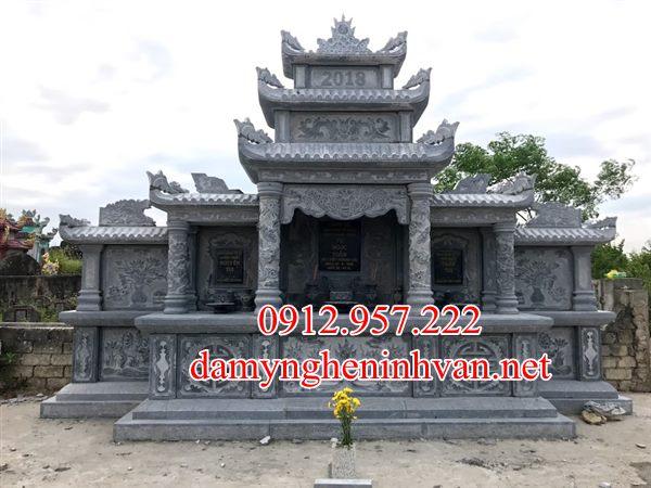 Lăng thờ chung đá đẹp tại Phú thọ