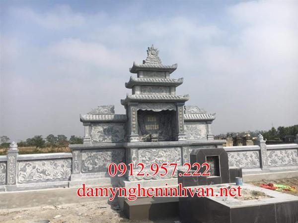 Lăng thờ chung khu mộ đá tại Vĩnh Phúc, Miếu thờ thần Linh Khu mộ
